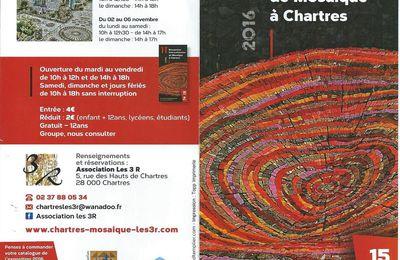 """Exposition au 11e Rencontre Internationale de Mosaïque à Chartres de """"La ronde des couleurs"""""""