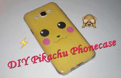 DIY#1 Coque de téléphone Pikachu