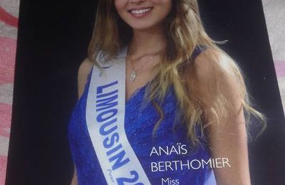 miss limousin 2017