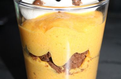 Mousse Monstrueusement Croquante à l'Orange