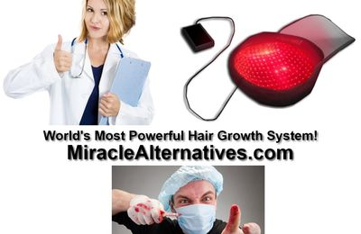 CAUTION! Hair transplantation Can Be Deadly! New Natural Solution Available!