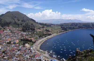Copacabana, sur les rives du lac Titicaca