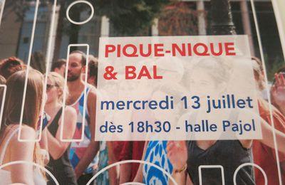 13 juillet 2016 : repas de quartier & bal - Halle Pajol