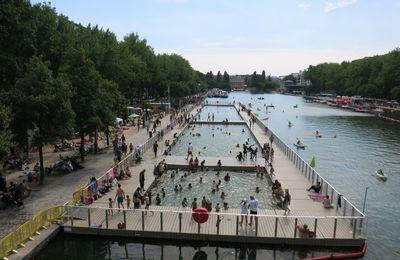 Paris Plage 2017 côté Bassin de la Villette