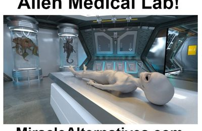 Aliens Share Medical Innovation With Medical Physicians!
