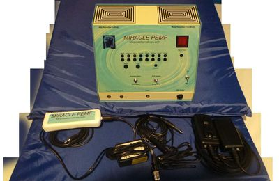 Miracle PEMF ™ Machine (3 & 1) Machine Can update to a 6 & 1 PEMF Machine!