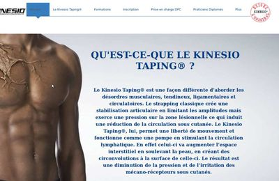 Le kinesio-taping, ça vous parle ?