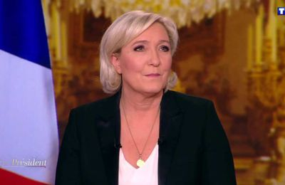 Marine Le Pen invitée de TF1 en prime-time ce soir