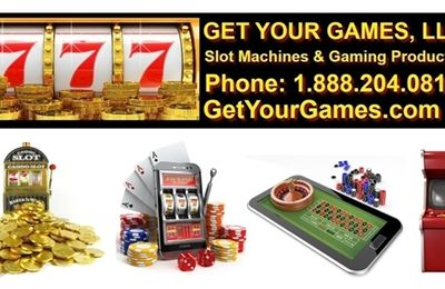 You Too Could Now Own Your Own Casino Slot Machine!