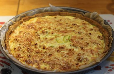 Tarte Saumon/Courgette
