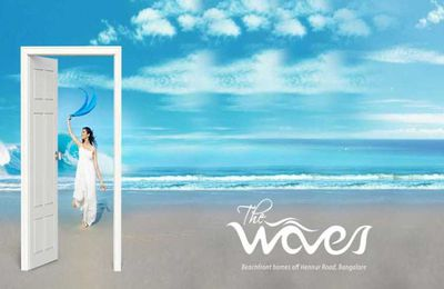 Purva The Waves : absorb pristine edifice of distinct designs promptly