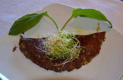 Omelette végétale aux champignons