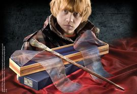 La baguette de Ron Weasley.