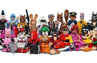 "[News] Nouvelle série Minifigures ""LEGO Batman Movie"""