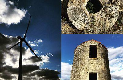 Le Lauragais, pays des vents : du moulin aux éoliennes...