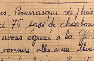 Dimanche 24 mars 1957 - Une sortie au théâtre à Airoux