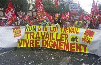 La CGT des Ardennes en nombre à Paris.