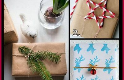 3 Christmas Wrapping Ideas