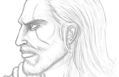 Visage homme dessin profil pictures to pin on pinterest thepinsta - Profil dessin ...