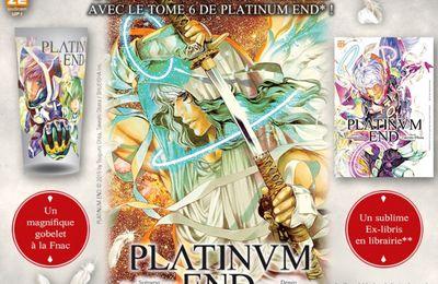 2 cadeaux Platinum End à découvrir en septembre pour la sortie du tome 6 !