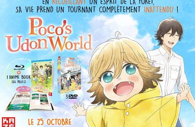 Poco's Udon World disponible en DVD et Blu-ray le 25 octobre !