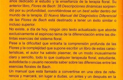 """""""Diagnostic différentiel des Fleurs de Bach"""" de Ricardo Orozco"""