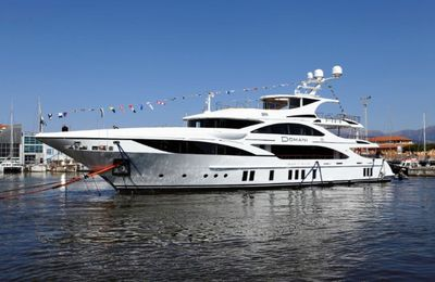 Premiere worldwide at the Monaco Yacht Show for the Benetti FB701 M/Y Domani