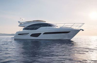 Grande Premiere of the All-New Princess 55 at Southampton Boat Show 2017