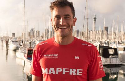 Olympic champion Blair Tuke joins MAPFRE in the Volvo Ocean Race