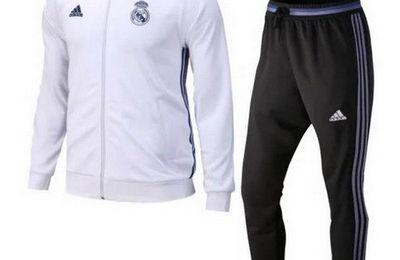 Nueva chaqueta blanco del Real Madrid 2017 €34.9!!| 2017 Camiseta de fútbol barata tienda €14.9!!!