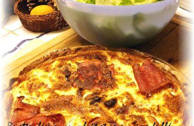 Quiche à la courgette, tomates et Fêta sans lait et sans gluten