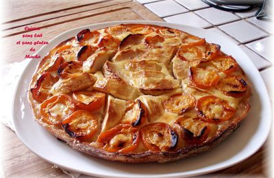 Tarte feuilletée aux abricots et pommes