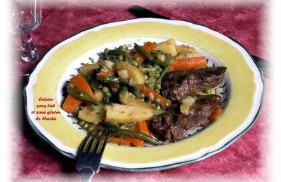 Printanière de légumes au boeuf