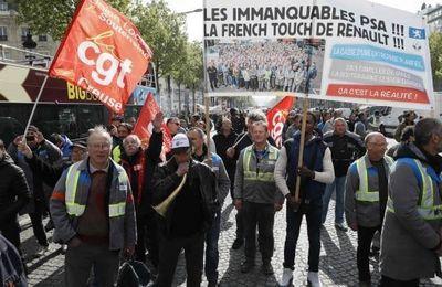 Soutien aux salariés en lutte de GM&S La souterraine !