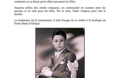 Les Communions à Hussein-Dey.