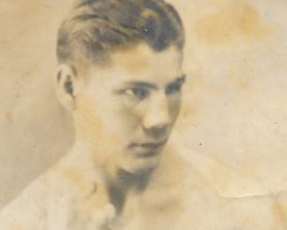 Gaston GABARROT : Boxeur Mort pour la France.
