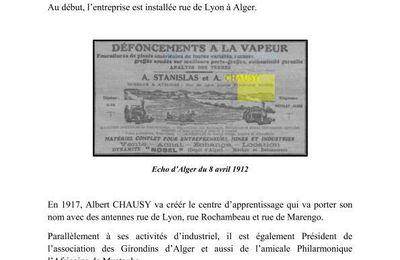 La Société CHAUSY.