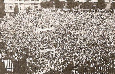 Alger : Le 4 juin 1958.
