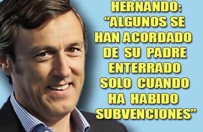 Hernando, un navajero cutre en el congreso