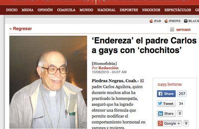Este sacerdote promete curar la homoxesualidad con homeopatía
