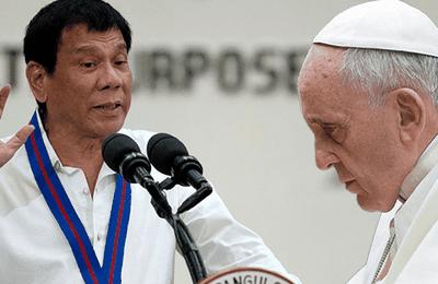 EL PRESIDENTE DE FILIPINAS REVELA QUE FUE VÍCTIMA DE ABUSOS SEXUALES POR PARTE DE UN OBISPO