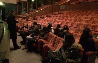La visite de l'opéra de Massy