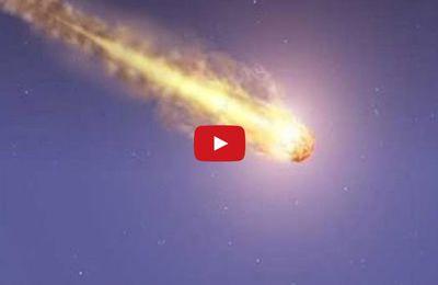 ALGÉRIE :  Vidéo -  Une boule de feu traverse le ciel de Constantine. K-Direct