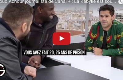 Mouloud Achour, Journaliste de Canal+ : La Kabylie est ma motivation. K-Direct - Actualité