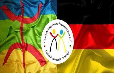 Message de soutien de Deutsch-Kabylische Freundschaft aux militants du MAK-Anavad. KDirect.info