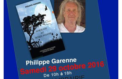 Philippe Garenne en dédicace à Cultura de Chasseneuil-Du-Poitou