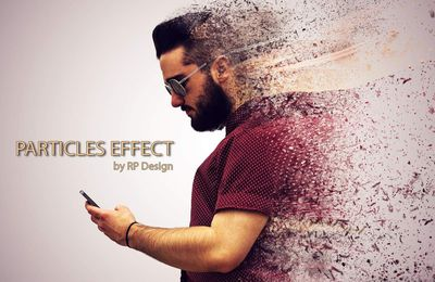 Particles Effect - Photoshop CS5