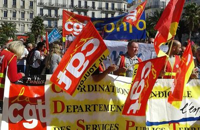 Manifestation du 21 septembre à Toulon : On lâche rien !