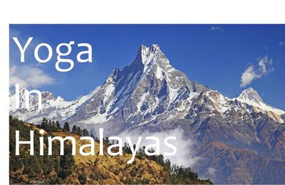 Yoga in Himalayas