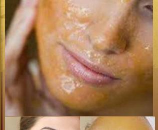 Un masque pour visage à base de miel